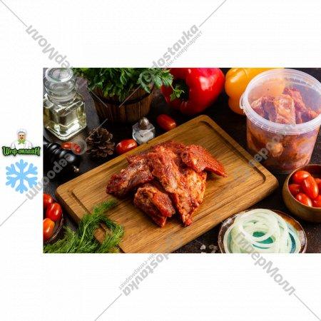 Полуфабрикат «Ребрышки свиные в маринаде грузинский» замороженные, 700 г.