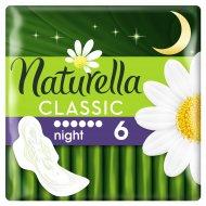 Прокладки женские «Naturella» Classic Camomile Night Single 6шт.
