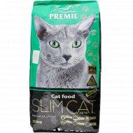 Корм для кошек «Premil» Slim Cat Super Premium, 10 кг