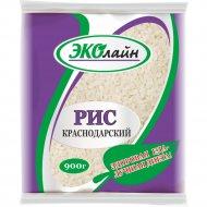Рис «Краснодарский» шлифованный, 900 г.