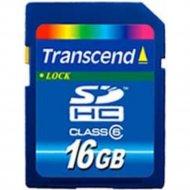 Карта памяти «Transcend» 16GB, Class 6.