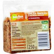 Хлеб цельнозерновой «Balviten» с клюквой, 250 г