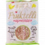 Мармелад «Fruktelli» со вкусом клубники и банана, 200 г.