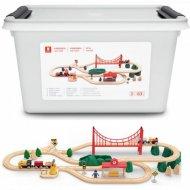Деревянная железная дорога «Xiaomi» Mi Toy Train Set BEV4144TY.