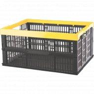 Ящик складной с перфорированными стенками.