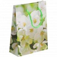 Пакет подарочный «Цветочная фантазия»17х12 см, в ассортименте.