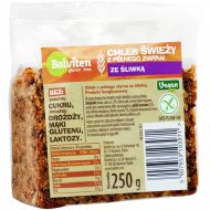 Хлеб цельнозерновой «Balviten» со сливой, 250 г