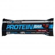 Батончик «Protein Bar» кокос, тёмная глазурь, 50 г.