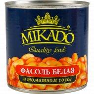 Фасоль белая в томатном соусе 420 г.