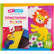 Пластилин «ArtSpace» 10 цветов, со стеком