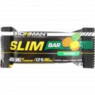 Батончик «Slim Bar» с L-карнитином, ананас, тёмная глазурь, 35 г.