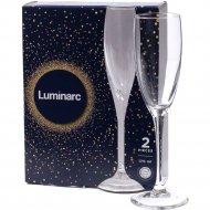 Набор бокалов для шампанского «Luminarc» Signature, 2 шт, 170 мл