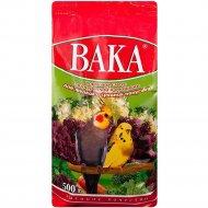 Кормовая смесь «Вака» с минералами и овощами для попугаев, 500 г.