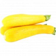 Кабачок цукини желтый, 1 кг., фасовка 1.1-1.3 кг