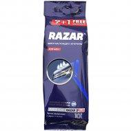 Бритвы «RAZAR 2 PLUS» одноразовые, 10 шт.