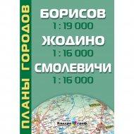 Планы городов «Борисов. Жодино. Смолевичи».