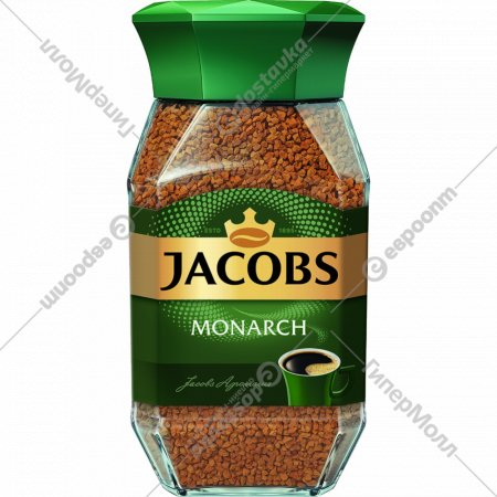 Кофе «Jacobs Monarch» растворимый 190 г.