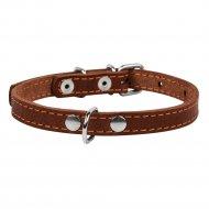 Ошейник одинарный «Collar» коричневый