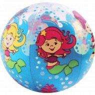 Игрушка мяч надувной «Русалки».