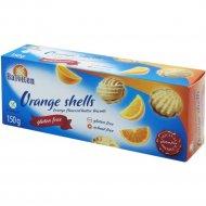 Масляное печенье с апельсиновым кремо «Orange shells» 150 г