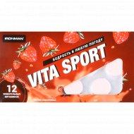 Жевательные витаминки «Vita Sport» со вкусом земляники, 12 шт.