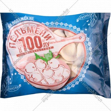Пельмени «Беловежские» замороженные 0.42 кг.