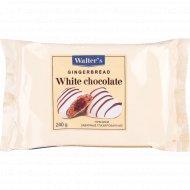 Пряники заварные «Walter's » белый шоколад 240 г.