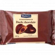 Пряники заварные «Walter's» темный шоколад 216 г.