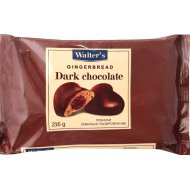 Пряники заварные «Walter's» темный шоколад, 216 г.