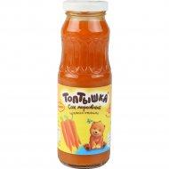 Сок «Топтышка» морковный, с мякотью, 250 мл.