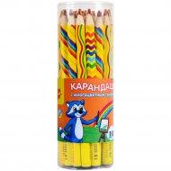 Карандаш с многоцветным грифелем «Мульти-Пульти» енот и радуга