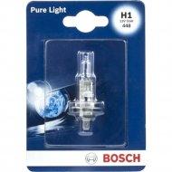 Лампа автомобильная «Bosch» Pure Light, H1, 12V, 55W, 1987301005FP3