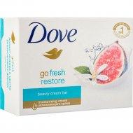 Крем - мыло «Dove» инжир и лепестки апельсина, 135 г.