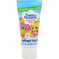 Детская зубная паста «Маленькая Фея» волшебный фрукт, 60 мл.