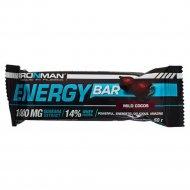 Батончик «Energy Bar» кокос, тёмная глазурь, 50 г.