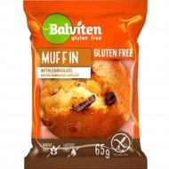 Маффин светлый с кусочками шоколада «Balviten» 65 г