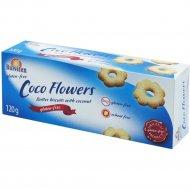 Масляное печенье с кокосом «CocoFlowers» 120 г