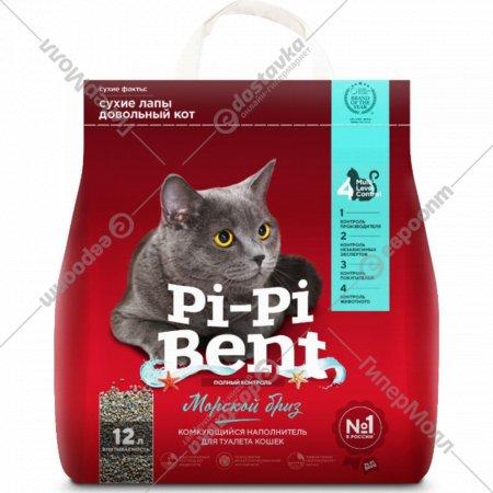 Наполнитель «Pi-Pi-Bent Морской бриз» бентонит, 5 кг.