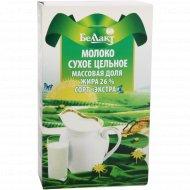 Молоко сухое цельное «Беллакт» 26%, 400 г.