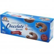 Печенье шоколадное безглютеновое «Herbatniki czekoladowe» 130 г