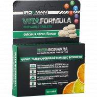 Жевательные таблетки «Вита формула» со вкусом апельсина, 30 шт.