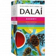 Чай черный «Dalai» чайное ассорти, 24 пакетика.