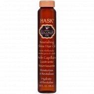 Масло «Hask» с экстрактом кокоса, 18 мл.