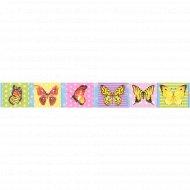 Закладка - магнит для книг «ArtSpace» бабочки, блестки, 25*200мм