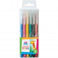 Набор шариковых ручек «ArtSpace» 6 цветов, 0.7 мм, 6 шт