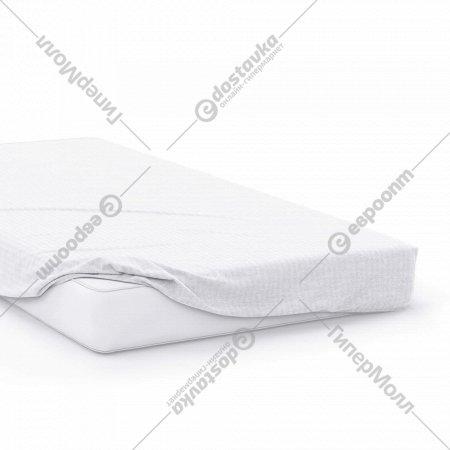 Простыня на резинке «Samsara» Белый, 200x180, Сат180Пр-1