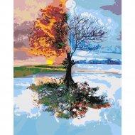 Картина по номерам «Picasso» Четыре времени года, PC4050505