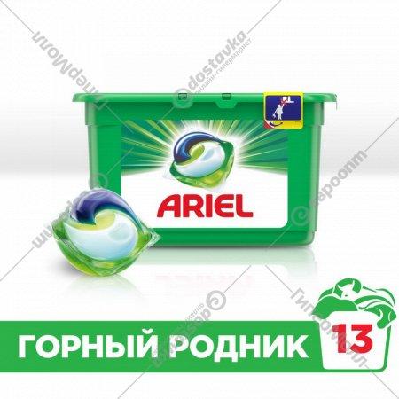 Жидкое моющее средство «Ariel» горный родник 13х27 г.