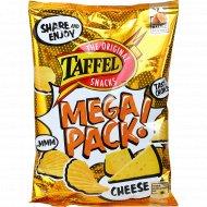 Картофельные чипсы «Taffel» со вкусом сыра, 280 г.