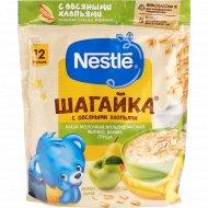Каша «Nestle» Шагайка, молочная, 5 злаков, яблоко/банан/груша, 200 г
